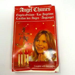 Angel chimes Swedish Christmas decoration vintage
